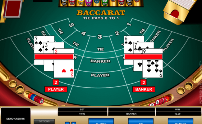 Baccarat, come giocare a Baccarat, regole