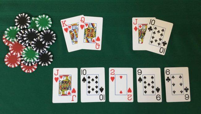 Texas Hold'Em Poker, procedimento da seguire
